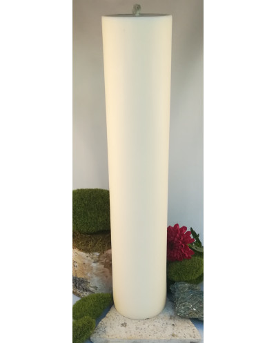 Bougie Blanche Pilier 40 cm